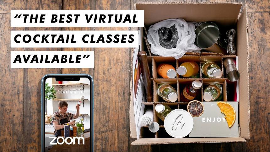 virtual mixology class